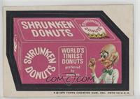 Shrunken Donuts