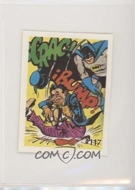 1976 DC Super Hero Stickers Venezuelan - [Base] #117 - Batman, Penguin