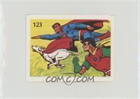 Superman, Robin, Krypto