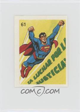 1976 DC Super Hero Stickers Venezuelan - [Base] #61 - Superman