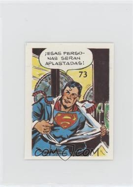 1976 DC Super Hero Stickers Venezuelan - [Base] #73 - Superman [PoortoFair]
