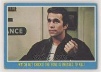 Watch out chicks! The Fonz is dressed to kill! [GoodtoVG‑EX]