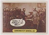 Surrender of General Lee [GoodtoVG‑EX]