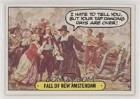 Fall of New Amsterdam [Good to VG‑EX]