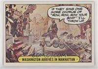 Washington Arrives in Manhattan [GoodtoVG‑EX]