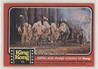 Natives wear strange costumes for Kong! [NoneGoodtoVG‑E…