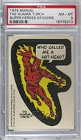 The Human Torch (Blank Back) [PSA8NM‑MT]