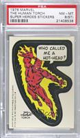 The Human Torch (Blank Back) [PSA8NM‑MT(ST)]