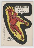 Human Torch (Sticker Back)
