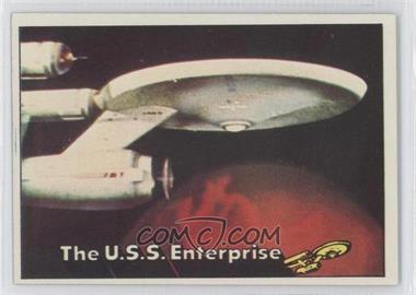 1976 Topps Star Trek - [Base] #1 - The U.S.S. Enterprise