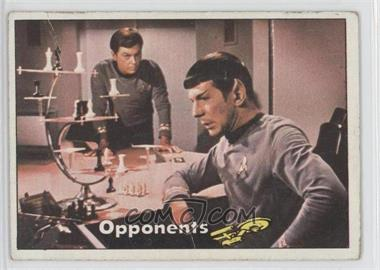 1976 Topps Star Trek - [Base] #10 - Opponents [Good to VG‑EX]