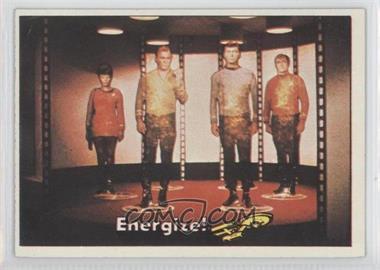 1976 Topps Star Trek - [Base] #11 - Energize!