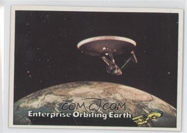 1976 Topps Star Trek - [Base] #18 - Enterprise Orbiting Earth