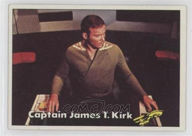 1976 Topps Star Trek - [Base] #2 - Captain James T. Kirk