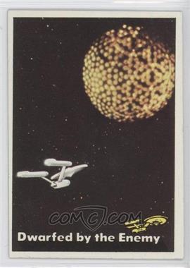1976 Topps Star Trek - [Base] #24 - Dwarfed by the Enemy
