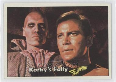 1976 Topps Star Trek - [Base] #33 - Korby's Folly