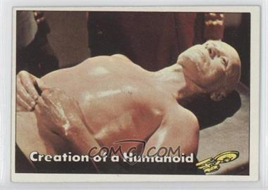 1976 Topps Star Trek - [Base] #75 - Creation of a Humanoid