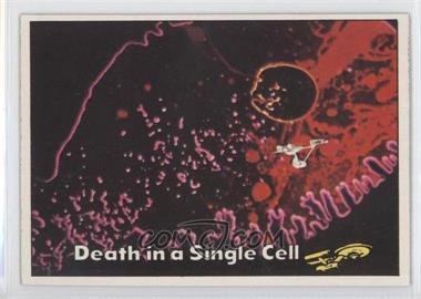 1976 Topps Star Trek - [Base] #80 - Death in a Single Cell
