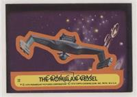 The Romulan Vessel