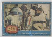 Luke revisa su Nuevo Robot [Poor]