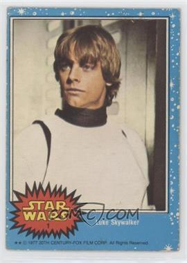 1977 O-Pee-Chee Star Wars - [Base] #1 - Luke Skywalker [PoortoFair]