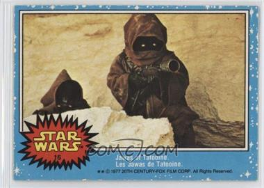 1977 O-Pee-Chee Star Wars - [Base] #16 - Jawas Of Tatooine