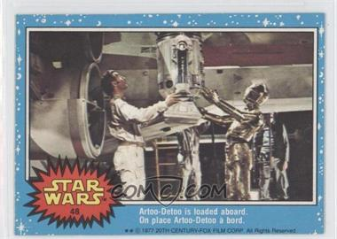 1977 O-Pee-Chee Star Wars - [Base] #48 - Artoo-detoo is loaded aboard