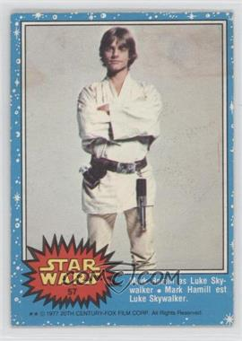 1977 O-Pee-Chee Star Wars - [Base] #57 - Mark Hamill As Luke Skywalker