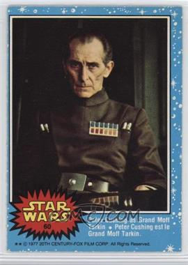 1977 O-Pee-Chee Star Wars - [Base] #60 - Grand Moff Tarkin