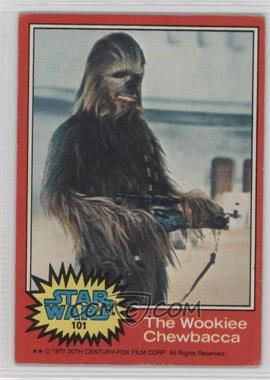 1977 Topps Star Wars - [Base] #101 - The Wookiee Chewbacca [Good to VG‑EX]