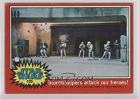 Stormtroopers Attack Our Heroes! [Good to VG‑EX]