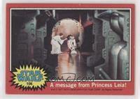 A Message from Princess Leia!
