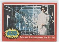 Princess Leia Observes the Battle!