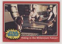 Hiding in the Millenium Falcon