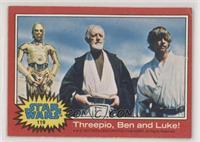 Threepio, Ben and Luke! [GoodtoVG‑EX]