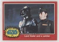 Lord Vader and a Soldier