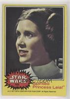 Spirited Princess Leia!