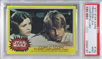 Princess Leia comforts Luke! [PSA9MINT]