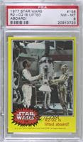 R2-D2 is lifted aboard! [PSA 8 NM‑MT]