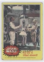 R2-D2 is lifted aboard! [Good to VG‑EX]