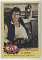 Han Solo Cornered by Greedo!