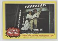 A Close Call for  Luke and Princess Leia!