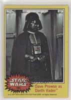 Dave Prowse as Darth Vader [GoodtoVG‑EX]