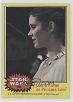 Carrie Fisher as Princess Leia [Poor]
