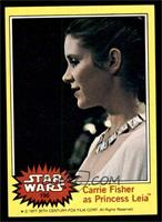 Carrie Fisher as Princess Leia [EX MT]