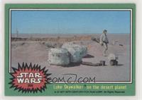 Luke Skywalker on the Desert Planet