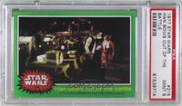 Han Bows out of the Battle [PSA 9 MINT]