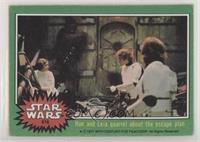 Han and Leia Quarrel About the Escape Plan [GoodtoVG‑EX]