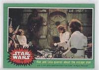 Han and Leia Quarrel About the Escape Plan