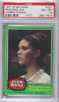 Princess Leia (Carrie Fisher) [PSA8NM‑MT]